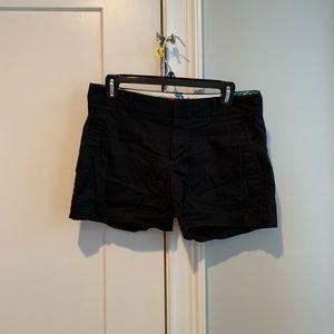 Trina Turk for banana republic black shorts size 4
